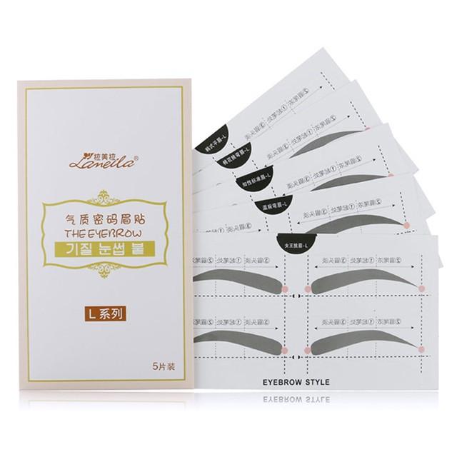 Eyebrow Stencils A400