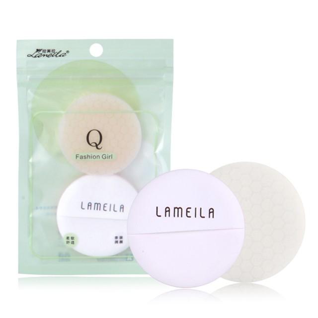 Lameila Round soft latex free foundation powder puff beauty makeup sponge cosmetic puff A746