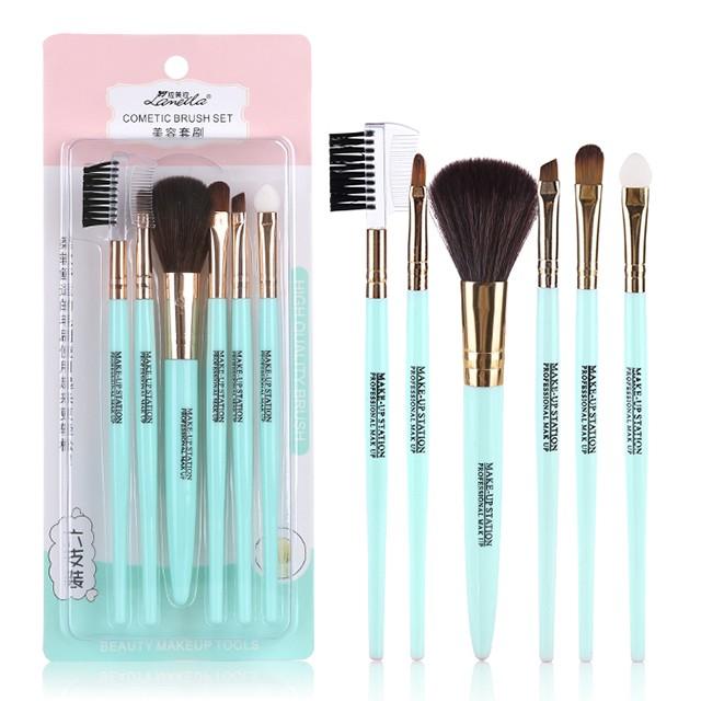 Lameila Makeup Brush 6pcs Private Label Cosmetic Tool Makeup Brushes Wholesale L0770