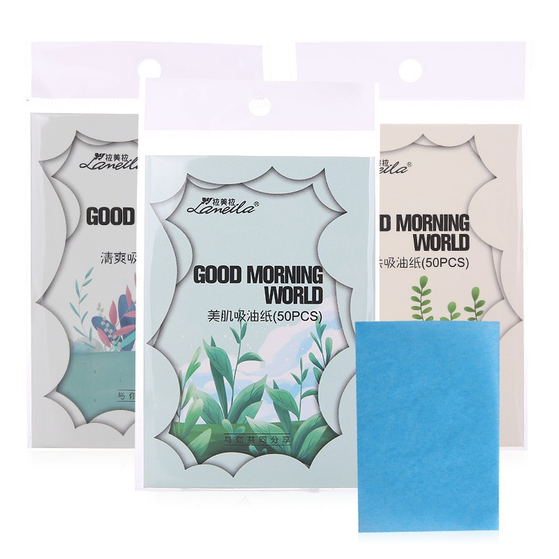 Lameila Private label natural Facial Oil Blotting Paper Personal oil blotting paper tissue A578