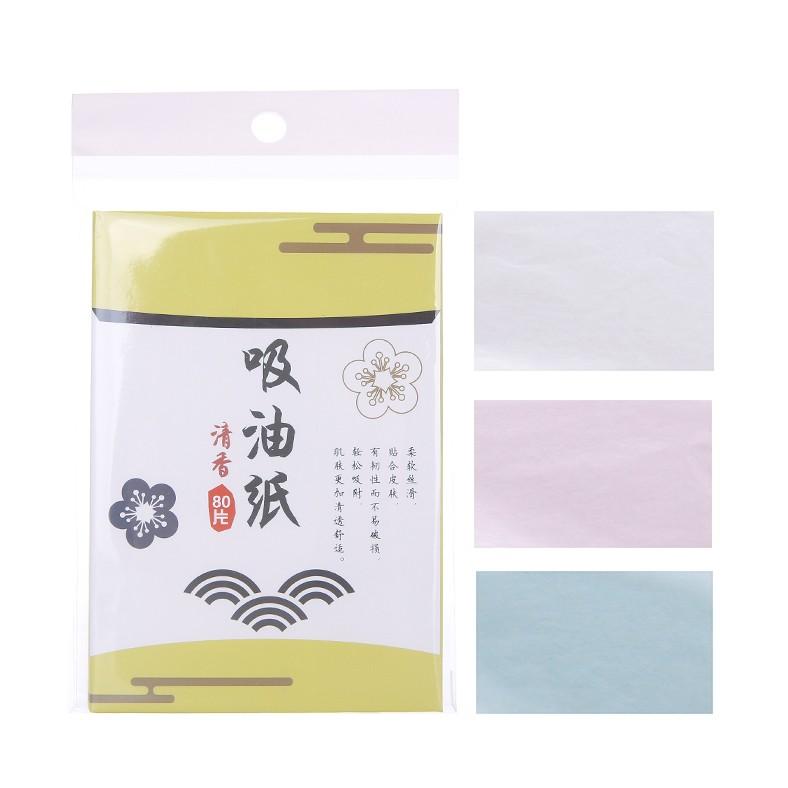 Lameila Manufacturer portable efficient refresh oil absorbing paper facial oil blotting paper 50pcs A579