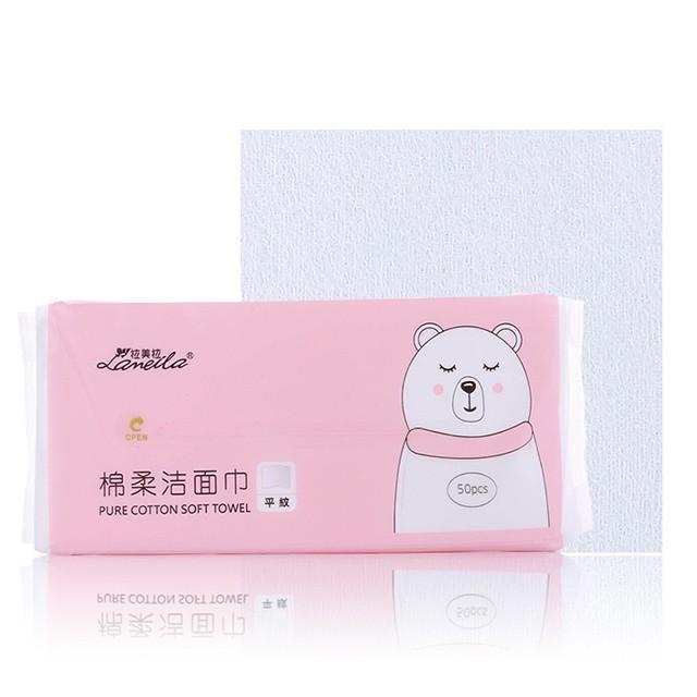 Lameila 50pcs Factory Customized Super Soft Clean Towel Beauty Salon Spa Disposable Facial Cleaning Towel B247