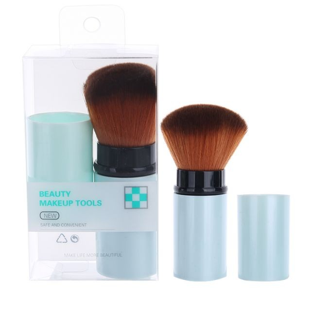 Silubi fashion new high quality beauty tools retractable single beauty cosmetic brush make up SLB-H003