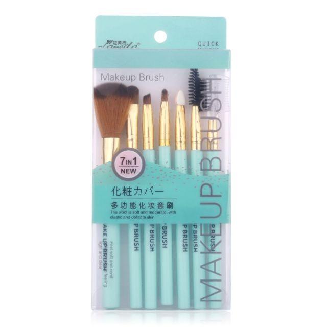 Lameila double-ended diagonal brush cosmetic custom eyeliner makeup brush L0943