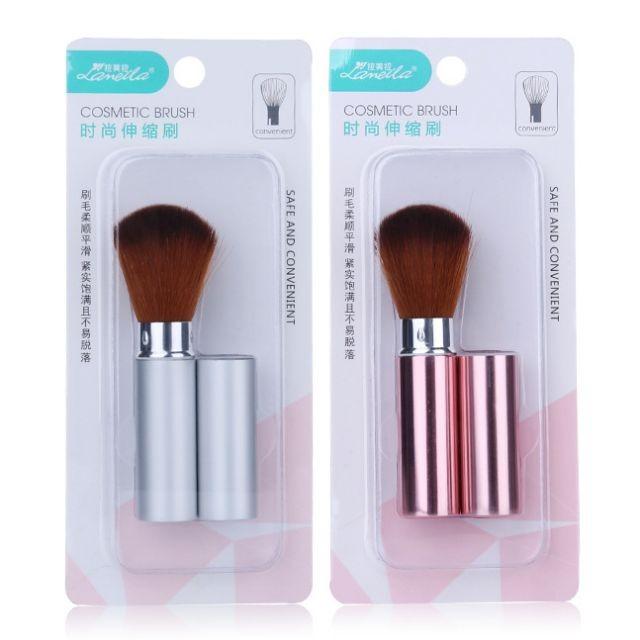 Lameila High Quality Telescopic Make Up Brushes Cosmetic Private Label Beauty Powder Mini Blush makeup Brush B0458
