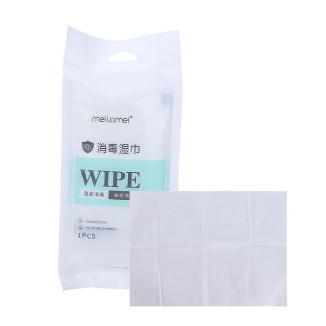 Meilaimei Private Label 80pcs Beauty Clean Makeup Cotton Face Make Up Remover Wipes MLM-SJ011