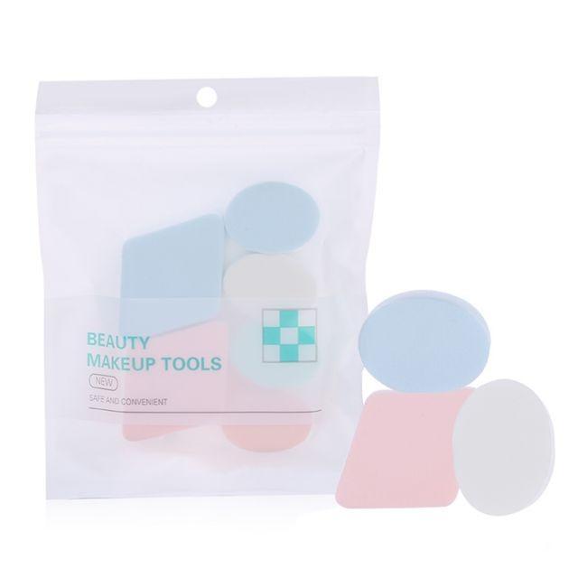 Silubi Multi Colors Cosmetic Foundation Powder Puff Makeup Sponge Cosmetic Beauty Puff SLB-F003