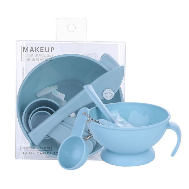 Mask Mixing Bowl New Arrival Set 4 in 1 Cosmetic DIY Face ClayMask Bowl Set for Beauty Salon