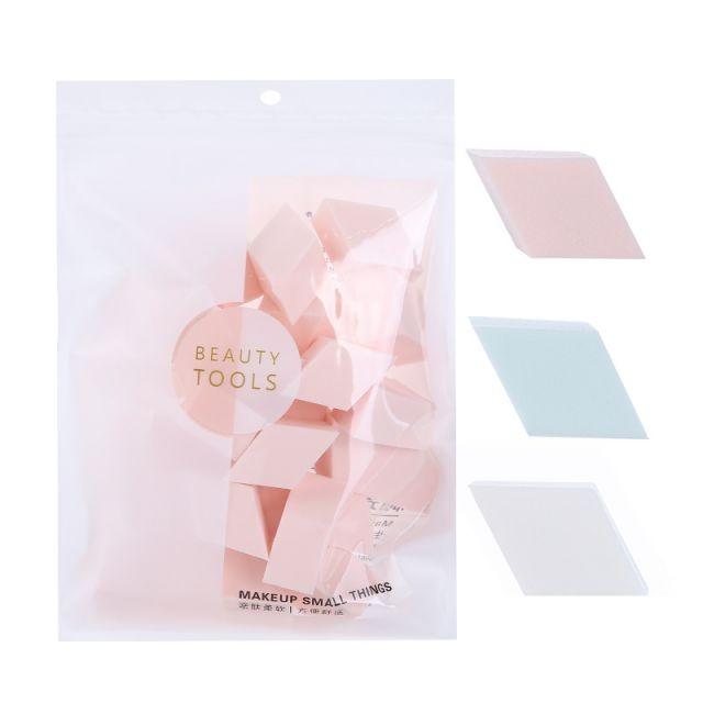 Lameila wholesale diamond cosmetic puff sponge blender foundation 25pcs girl makeup power puff B0943