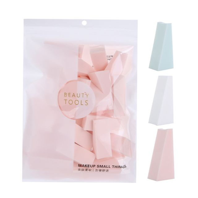 New Design Face Foundation sponge blender Makeup Cosmetic Wet And Dry Powder Puff B0941