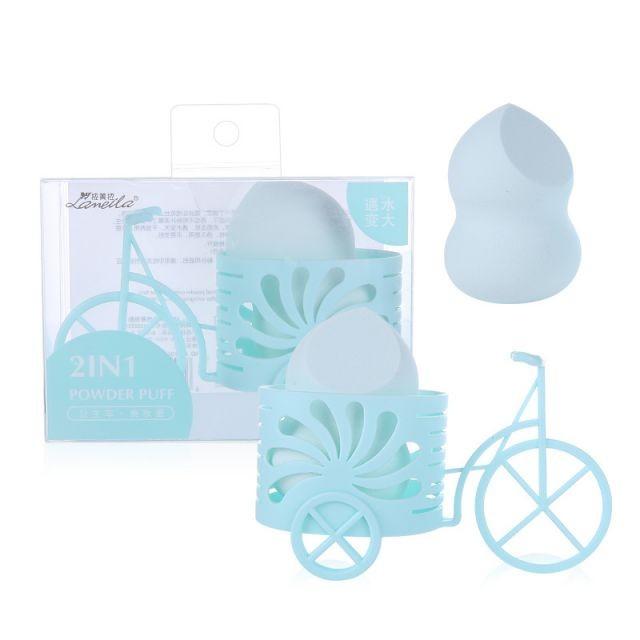 Lameila guard shape bigger makeup sponge blender cosmetic puff foundation sponge with baby cart A80106