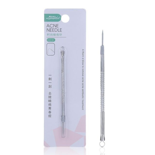 Lameila High quality makeup tools acne remover stainless steel acne tools blackhead acne needle B0731
