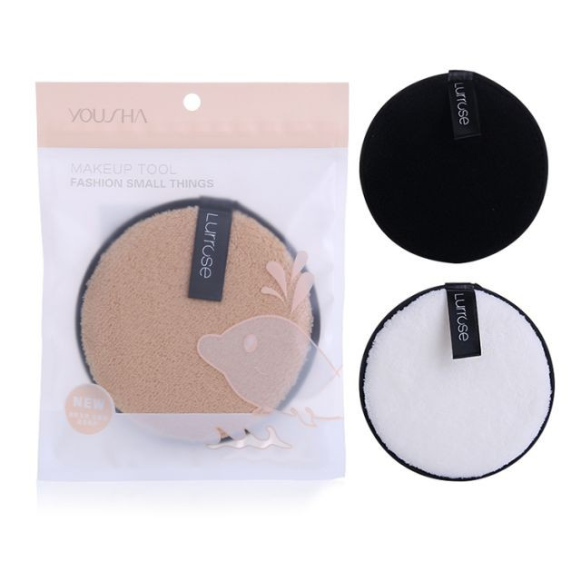 Yousha whoelsale makeup remover deeply clean sponge round shape face cleansing sponge YF198