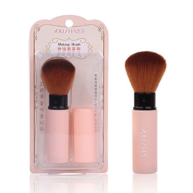 Yousha Hot selling make up brush retractable blush makeup brush YC004