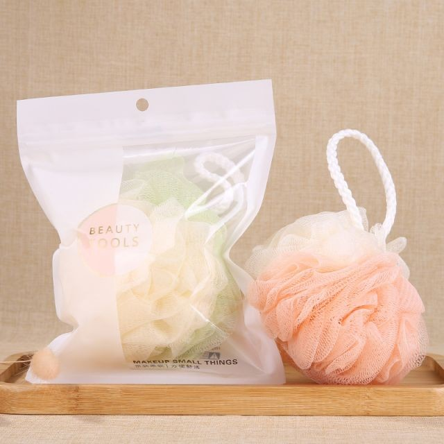 Lameila Mini Soft Body Bubbles Sponge Skin Exfoliating Scrubber Loofah Mesh Net Ball Cleaning Bath Shower Sponge 1pc C066
