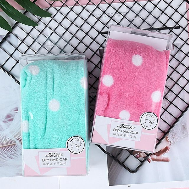 shower tools manufacturer hair drying cap Microfibre fabrics coral velvet soft quick dry hair towel for women drying hair