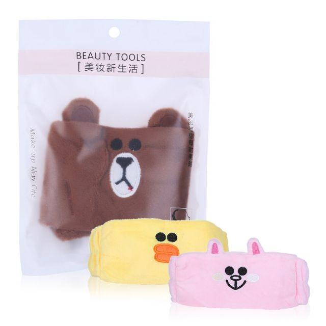 Women Beauty Headbands Makeup Shower Wash Headband Cute Makeup Hair Band C0826