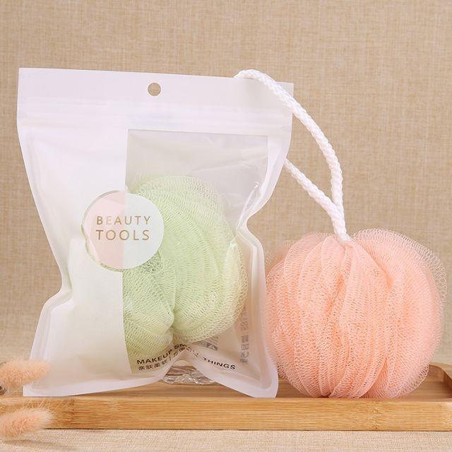 Lameila Mini Soft Body Bubbles Sponge Skin Exfoliating Scrubber Loofah Mesh Net Ball Cleaning Bath Shower Sponge 1pc C067