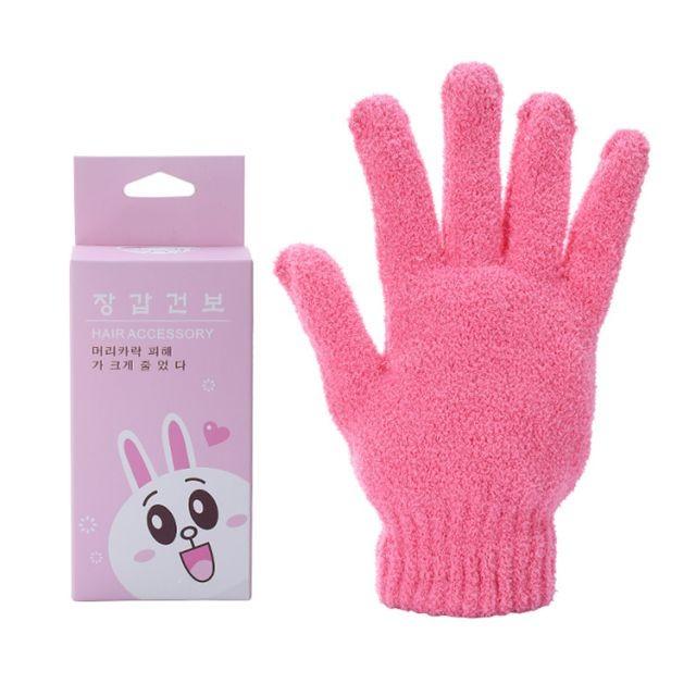 Silubi soft quick dry microfiber hair salon drying towel reusable straightener dry hair glove S654