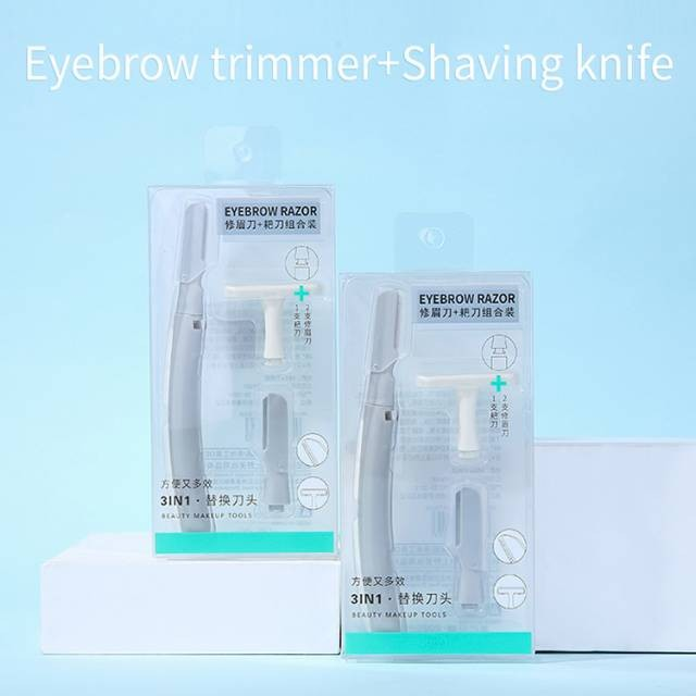 Lameila New arrivals beauty manual replaceable shaving razor brows hair remover best eyebrow trimmer A961