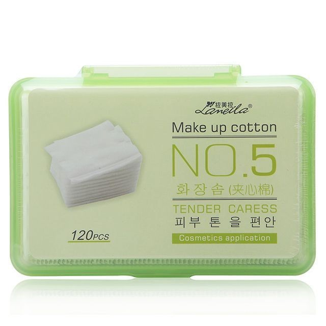 Meilamei 120pcs Cotton_pads Makeup Remover Disposable Cosmetic Cotton Pads For Face B111