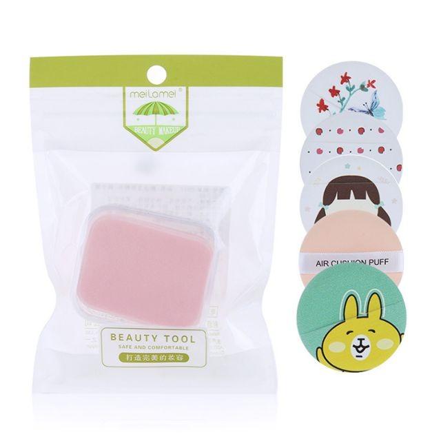Meilamei Unique Design Foundation Powder Puff Sponge Air Cushion Cosmetic Puff Makeup Sponge MLM-E001