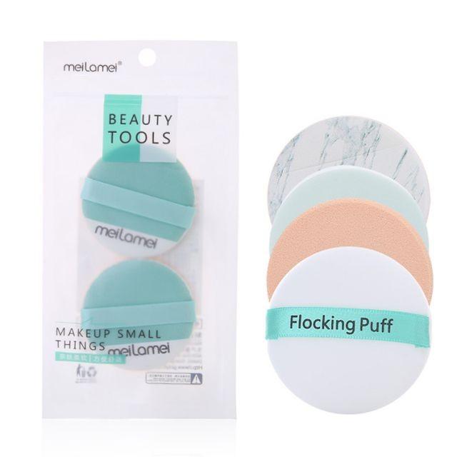 Novel Design Style Sponge Puff Set Beauty Cosmetic Powder Puff Packaging Boxes MLM-E500