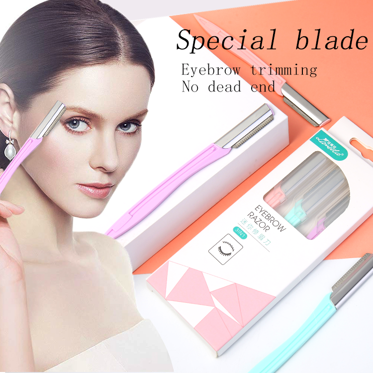 Lameila Wholesale cosmetic eyebrow razor Trimmer blade shaver for women A0371