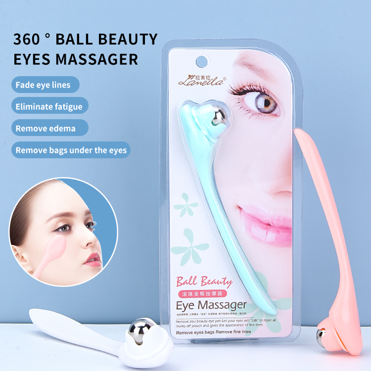 Lameila portable manual mini eye care massager 2021 personal handheld eye beauty massager M1059