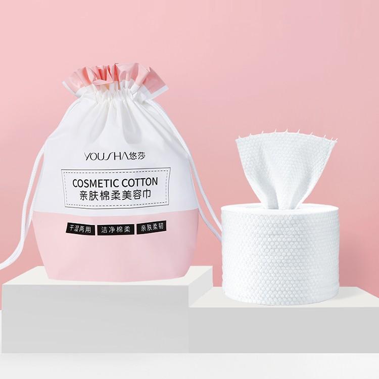 New element design cotton soft facial beauty cleansing towel salon hand disposable face towels TM080