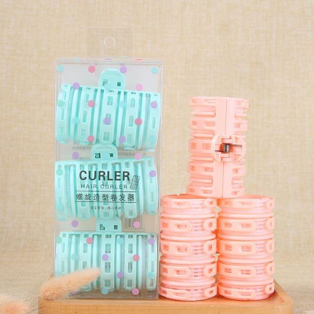 Popular Styler Beauty Hair Tools Plastic Mini Roller Hair Curler C256