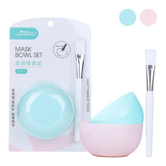 Lameila DIY Face Mask Makeup Tools Beauty Salon Plastic Facial Mask Mixing Bowl D0826