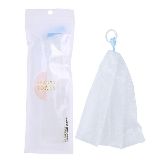 Lameila Wholesale price Multi-purpose double-layer nature bubble net beauty skin facial cleanser handmade soap bubble net B0025