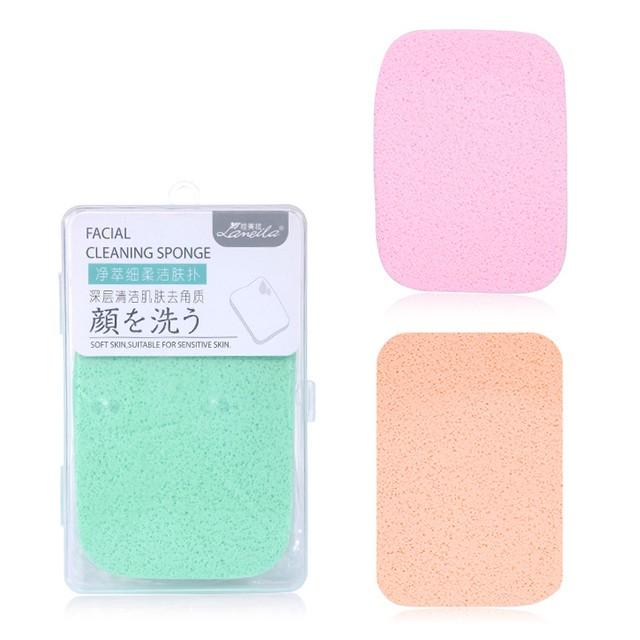 Lameila cosmetic makeup removal face sponge b2052