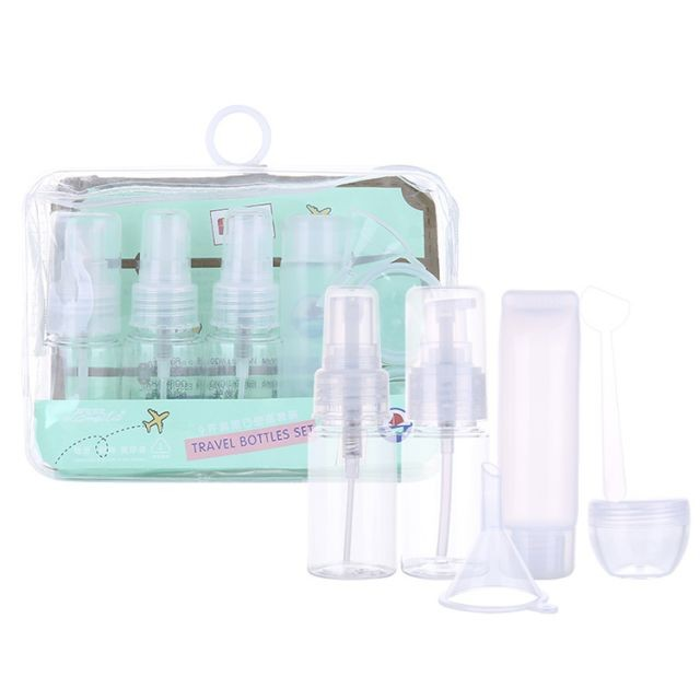 Lameila PET Transparent Plastic Spray Bottle cosmetic travel empty bottle for sale LM264
