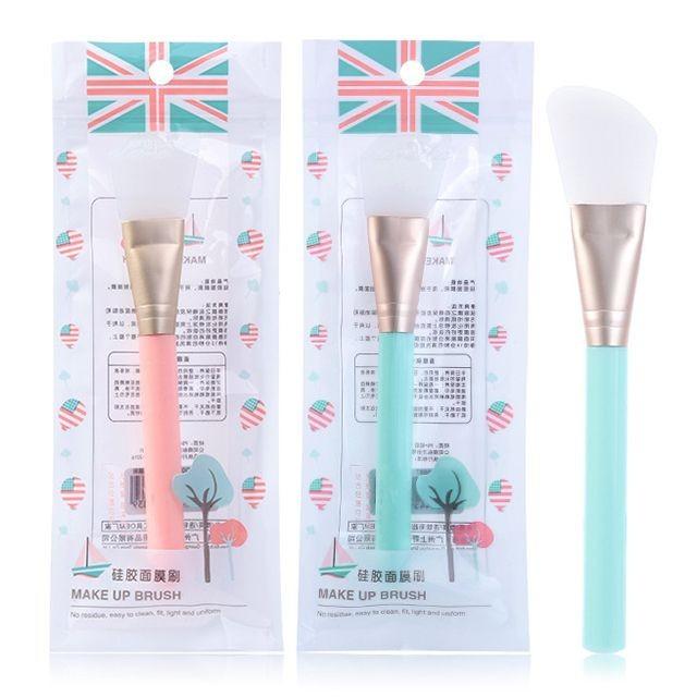 Lameila Hot Sales Beauty Tool Diy Facial Mask Applicator Brush Silicone Face Mask Brush Spatula For Beauty Salon D0889